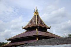 Roof detail at Masjid Kariah Dato' Undang Kamat, Johol, Negeri Sembilan Royalty Free Stock Image