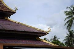 Roof detail at Masjid Kariah Dato' Undang Kamat, Johol, Negeri Sembilan Royalty Free Stock Photos