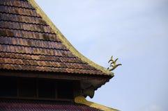 Roof detail at Masjid Kariah Dato' Undang Kamat, Johol, Negeri Sembilan Royalty Free Stock Photography
