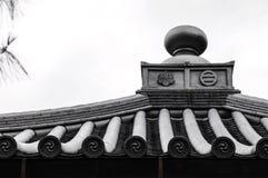 Roof Detail of Otaki Castle Royalty Free Stock Photos