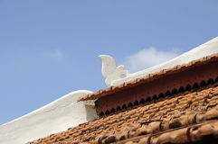 Roof detail of Peringgit Mosque in Malacca, Malaysia Royalty Free Stock Image