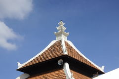 Roof detail of Peringgit Mosque in Malacca, Malaysia Stock Photo