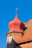 Roof detail of typical Black Forest house Royalty Free Stock Photography