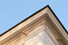 Roof details from classic building architecture Stock Images
