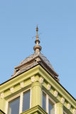 Roof details from classic building architecture Royalty Free Stock Images