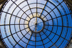 Roof details, galleria vittorio emanuele Royalty Free Stock Images
