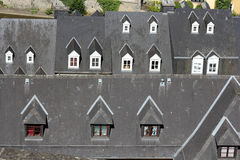 Roof details in Luxembourg Royalty Free Stock Photo