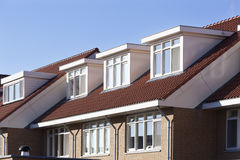 Roof with dormers Stock Image