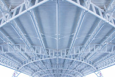 Roof of exterior airport Stock Image