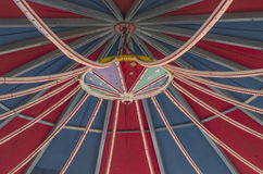 Roof of a fairground carousel. Under sunlight Royalty Free Stock Photo