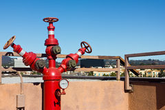 Roof Fire Hydrants Royalty Free Stock Photos