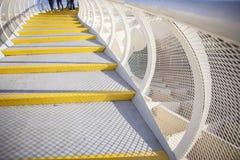 Roof footbridge for pedestrians at Metropol Parasol, Seville, Sp Stock Photography