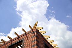 Roof Framework Stock Image