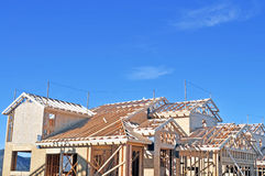 Roof Framing Royalty Free Stock Photos