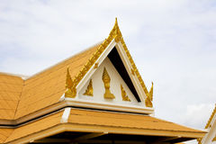 Roof gable Stock Photo