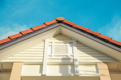 Roof gable Royalty Free Stock Photo
