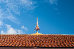 Roof gable apex Stock Photography