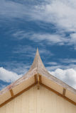 Roof gable in Thai style. Royalty Free Stock Photography