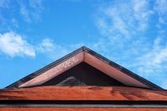 Roof gable Thai style Stock Photo