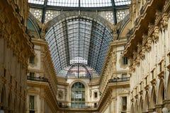 Roof of the Galleria Vittorio Emanuele Stock Photos
