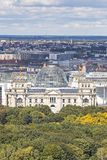 Roof of German parliament building Bundestag in Berlin, German Stock Photography