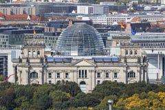 Roof of German parliament building Bundestag in Berlin, German Stock Photos