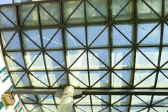 Roof of glass Royalty Free Stock Photos