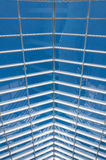Roof glass steel structure modern building Stock Image