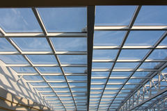 Roof glazing Royalty Free Stock Images