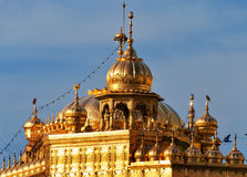 Roof of Golden Temple in Amritsar. India Stock Photography