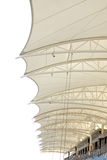 Roof of grandstand, Bahrain International Circuit Royalty Free Stock Photo