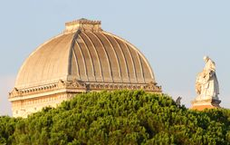 Roof of the great synagogue of Rome Royalty Free Stock Photo