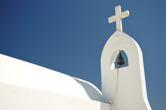 Roof of Greek church Royalty Free Stock Photos