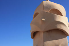 Roof guardian by Gaudi Stock Photo