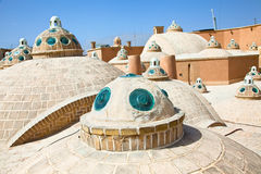 Roof of  Hammam in Kashan , Iran Royalty Free Stock Photos