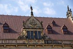 Roof of Handelskammer in Bremen Stock Photo