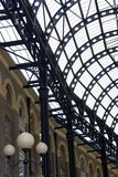 The roof of a the Hays Galleria. On the South bank, London Royalty Free Stock Photography