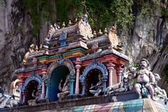 Roof of hindu temple, Batu caves, Kuala lumpur Stock Photography