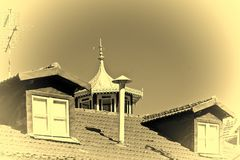 Roof in Portugal Stock Photography