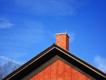 Roof of house Royalty Free Stock Image