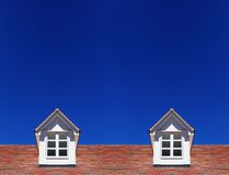 Roof house Stock Photos