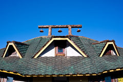Roof house Royalty Free Stock Image