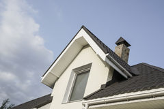 Roof of a house Royalty Free Stock Photo