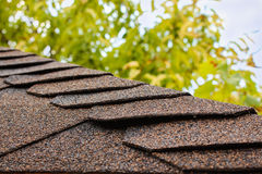 Roof of house Stock Photos