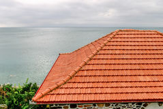 Roof of house Stock Image