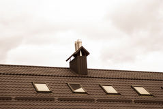 Roof of the house Royalty Free Stock Image