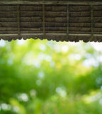 Roof hut Stock Photography