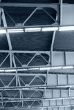 Roof of industrial building Royalty Free Stock Photo