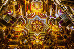 Free Roof Inside Cardiff Castle Stock Image - 92238301