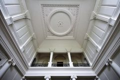 Roof inside main room at Russborough Stately House, Ireland Royalty Free Stock Images